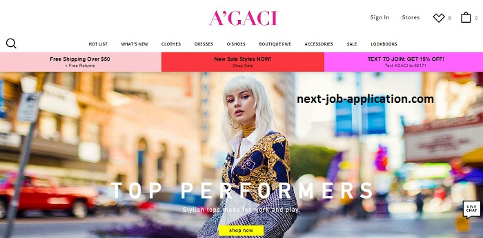 A'GACI WEBSITE