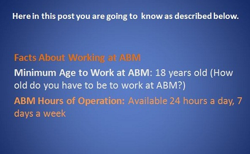 ABM Industries Jobs, Part-Time & Full-Time