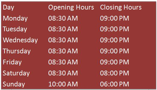 Farm And Fleet Hours of Operation