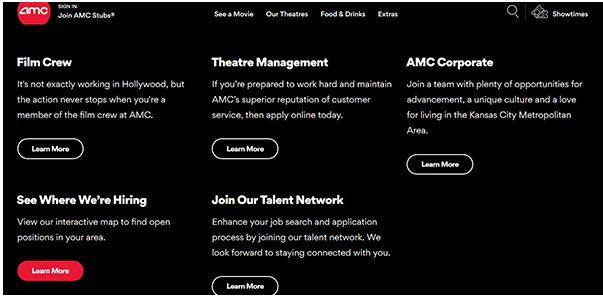 AMC Job Application 1
