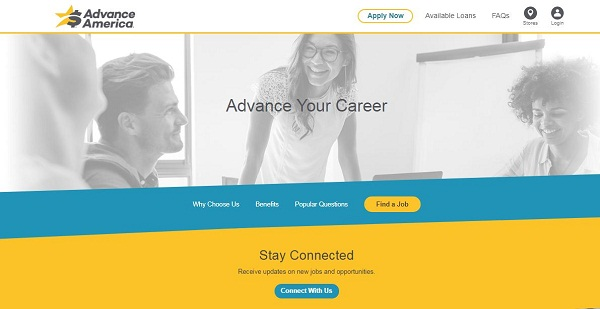 Advance America Careers and Employment