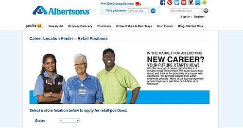 Albertsons Job Applications