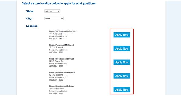 Apply Online at Albertsons