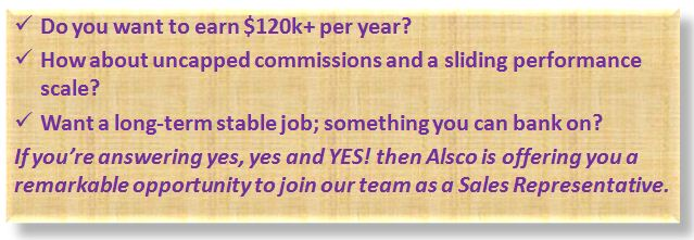 Alsco Positions and Salary Information
