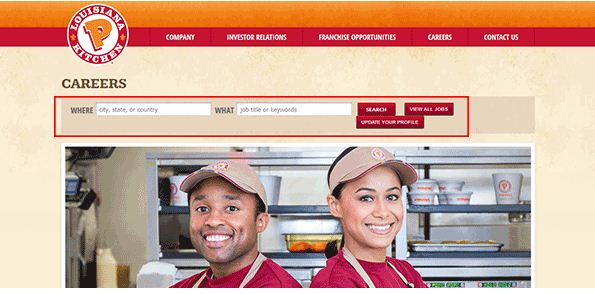 graphic regarding Popeyes Application Printable titled  Popeyes Activity Program, Careers Positions On line Choosing