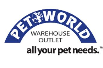 pet world warehouse logo